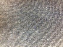 Drelichowa tkanina cajgów tekstura dla tła Obraz Stock