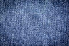 Drelichowy cajg tkaniny tekstury tło dla projekta Zdjęcie Royalty Free