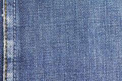 Drelichowy cajg tkaniny tekstury tło z szwem dla projekta Zdjęcia Stock
