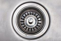 Dren de fregadero Foto de archivo libre de regalías