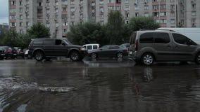 Dren del camino en trabajo en Kyiv