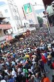 Drenaje 2010 del final de la Copa del mundo de la FIFA en cabo largo de la calle Imagen de archivo libre de regalías