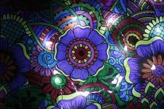 Drenaje abstracto con las luces 8 foto de archivo libre de regalías