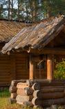 Drenaje-bien de madera Foto de archivo