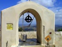 Drenaje bien en el monasterio de Majorca Fotografía de archivo libre de regalías