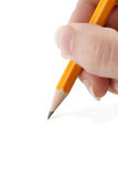 Drenaje con el lápiz Fotografía de archivo
