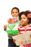 Drenaje de los niños Fotos de archivo