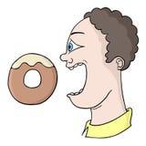 Drenaje hambriento del hombre libre illustration