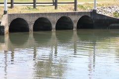 Dreno da água da chuva Imagens de Stock