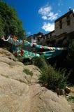 Drepung Kloster stockfotos