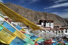 Drepung kloster i Lhasa Arkivbilder