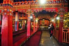 Drepung monasteru wnętrze Zdjęcie Stock