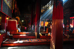 Drepung Monastery Interior Royalty Free Stock Photography