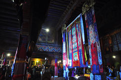 Drepung Monastery Interior Stock Images