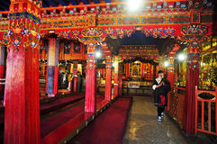 Drepung Monastery Interior Stock Photo