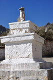Stupa at Drepung Monastery Stock Image