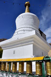Stupa at Drepung Monastery Stock Photo