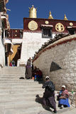 Drepung Monastery, Tibet Stock Photos