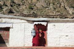 Drepung Monastery, Tibet Royalty Free Stock Images