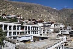 drepungkloster tibet Royaltyfria Foton