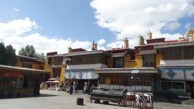 Drepungs-Kloster, Lhasa Lizenzfreie Stockbilder