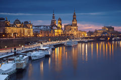 Dresda. immagine stock