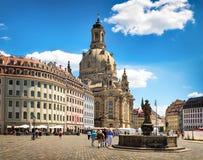 Dresda ed i suoi dintorni Immagini Stock Libere da Diritti