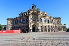 Dresda Frauenkirche房子  库存图片