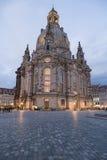 Dresda Frauenkirche Immagine Stock Libera da Diritti