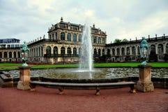 Dresda, Germania:  Il palazzo di Zwinger Immagine Stock Libera da Diritti