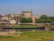 Dresda Semperoper immagine stock