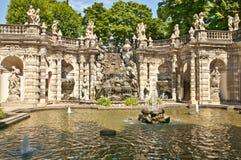 Dresda - Zwinger immagine stock