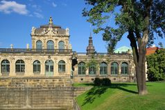 Dresda Zwinger Fotografia Stock