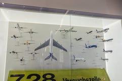 DRESDE, ALLEMAGNE - L'AMI 2015 : aricrafts de passager à Dresde Tran Photographie stock