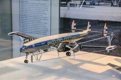 DRESDE, ALLEMAGNE - L'AMI 2015 : avions de transport de passagers Lockheed L-749 C Images libres de droits