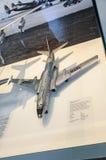 DRESDE, ALLEMAGNE - L'AMI 2015 : Tupolev Tu-104 d'avion de passagers I 1955 Photographie stock