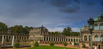 Dresde est une ville dans l'État fédéral allemand de la Saxe Photos libres de droits
