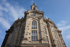 Dresde Frauenkirche, Allemagne images stock