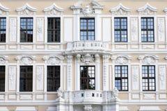 Dresde : La fa?ade de Palais Taschenberg images stock