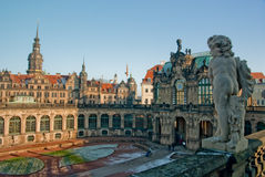 Dresde Zwinger Photo stock