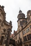 dresden Германия Виды города разбивочное историческое Стоковое Изображение