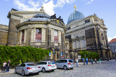 The Dresden Academy of Fine Arts Royalty Free Stock Photo