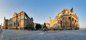 The Dresden Academy of Fine Arts. Royalty Free Stock Image