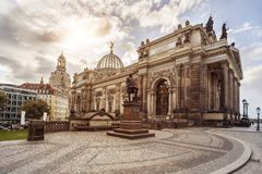 Dresden Acedemy of fine Arts Royalty Free Stock Photography