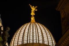 Dresden-Akademie von Künsten Stockfotografie