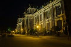 Dresden-Akademie von Künsten Stockfotos