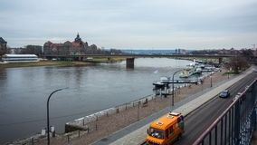 22 01 Dresden 2018; Alemania - arquitectura y paisaje de Dres Fotografía de archivo