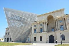 Dresden, Alemania - 4 de agosto de 2015: Museo de la historia militar del Ejército alemán Imagen de archivo