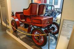 DRESDEN, ALEMANIA - EL AMI 2015: Virutas para rellenar 1904 en el transporte de Dresden Imagenes de archivo
