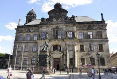 Dresden,august 28:Historic building from Dresden in Germany Royalty Free Stock Photography